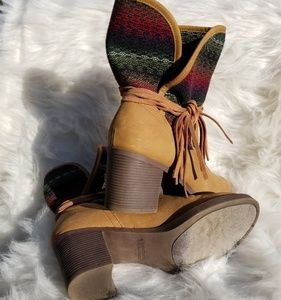 Sugar Booties size 10